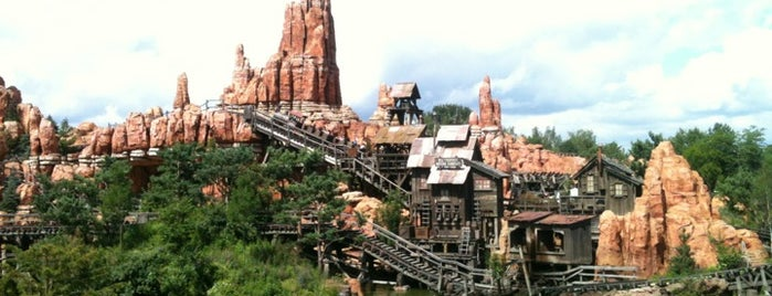 Big Thunder Mountain is one of Paris.