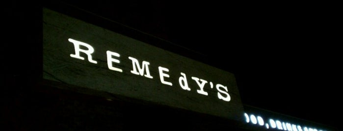 Remedy's Tavern is one of Lizzie 님이 저장한 장소.