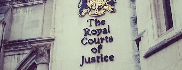 Royal Courts of Justice is one of London1.