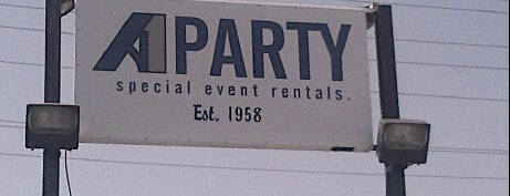 A1 Party Special Event Rental is one of Stephenさんのお気に入りスポット.