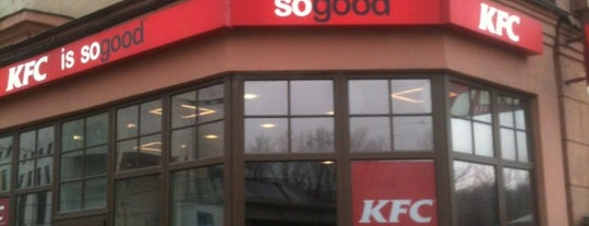 KFC is one of Lieux qui ont plu à Alexandra Zankevich ✨.