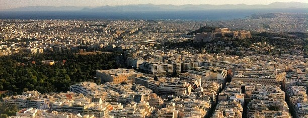 Lycabettus Hill is one of Greece.