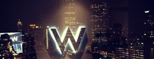 W Atlanta - Downtown is one of #416by416 4sqDay List 1.