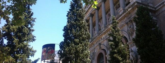 Biblioteca Nacional de España is one of Favorite 5 local spots.
