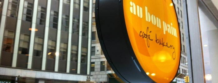 Au Bon Pain is one of NYC.
