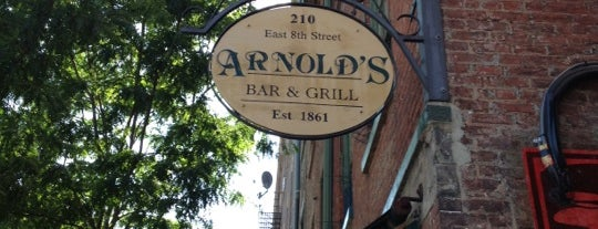 Arnold's Bar & Grill is one of Cincy.