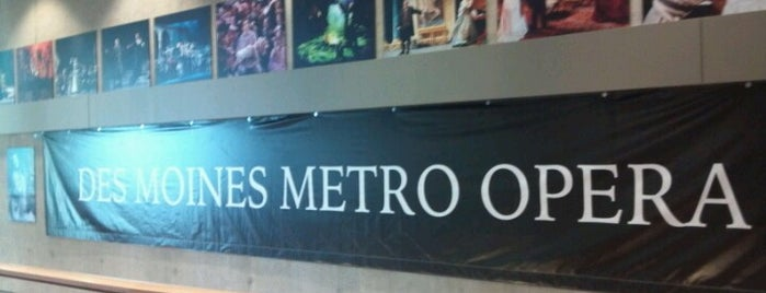 Des Moines Metro Opera is one of See Des Moines Ultimate List.