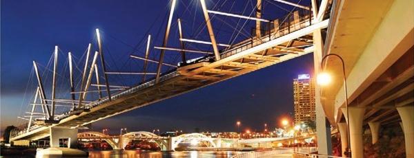 Kurilpa Bridge is one of Alexander 님이 좋아한 장소.