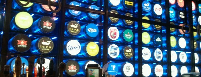 The Pub at Monte Carlo is one of Vegas.