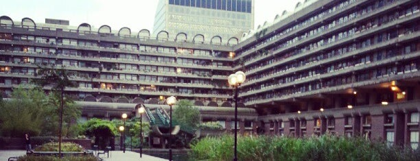 Barbican Centre is one of London <3.