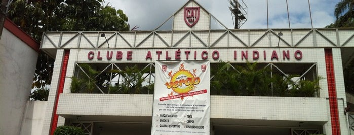 Clube Atlético Indiano is one of Locais curtidos por César Eduardo.