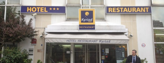 Hôtel Kyriad Paris Sud - Porte d'Ivry is one of The Summer of 2014.