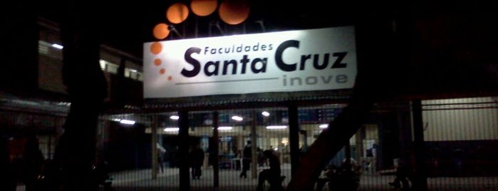 Faculdades Santa Cruz (INOVE) is one of Locais curtidos por Alisson.