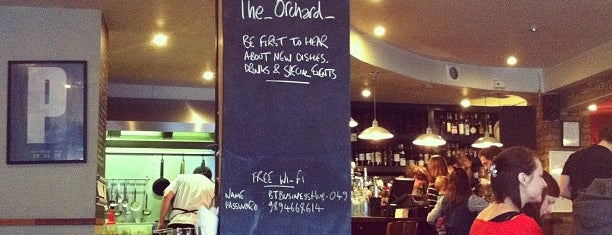 The Orchard is one of London.