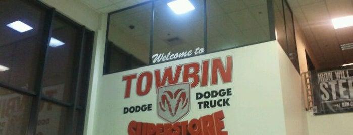 Towbin Dodge is one of Tempat yang Disukai Vince.