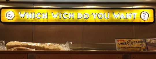 Which Wich? Superior Sandwiches is one of Gus'un Kaydettiği Mekanlar.