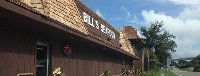 Bill's Seafood is one of Calabash.