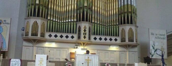 United Methodist Church at New Brunswick is one of Orte, die Afi gefallen.
