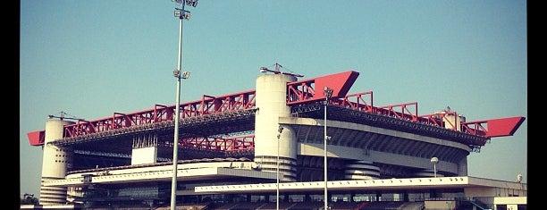 "Stadio San Siro ""Giuseppe Meazza"" is one of Italy."