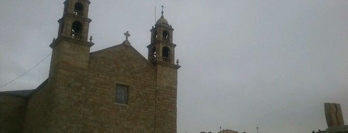 Santuario da Virxe da Barca is one of Guia de Galicia.