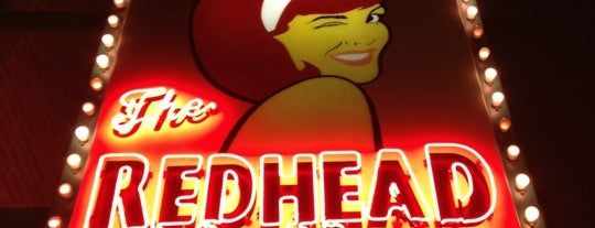 The Redhead Piano Bar is one of Chitown via NYC.