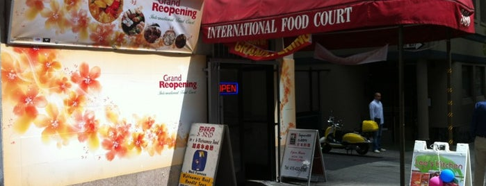 International Food Court is one of Locais curtidos por Bjoern.