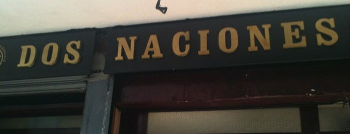 La Dos Naciones is one of Cantinas.