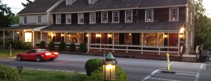 Dilworthtown Inn is one of Romantic Philadelphia.