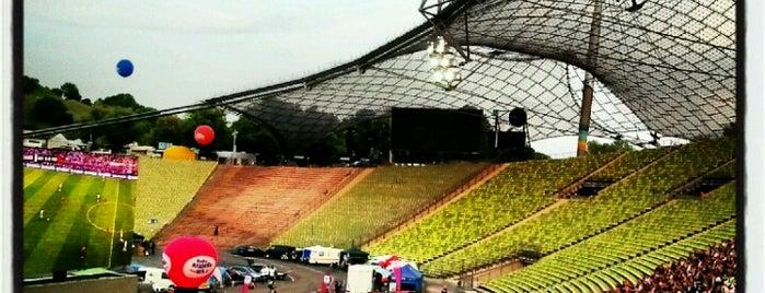 Olympiastadion is one of 'Stadium Talk'....