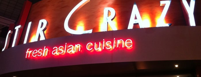 Stir Crazy Fresh Asian Grill is one of Mattさんのお気に入りスポット.