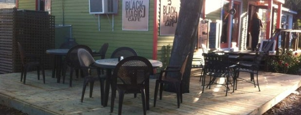 Black Magic Cafe is one of Charleston.