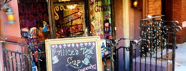 Alice's Tea Cup is one of NYC.