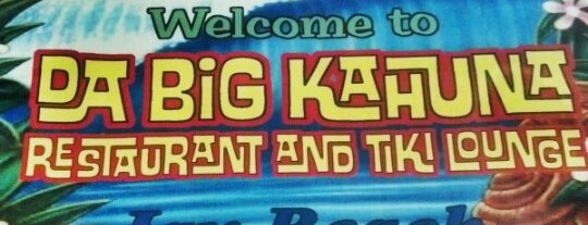 Da Big Kahuna Restaurant & Tiki Lounge is one of Jacksonville / St. Augustine.