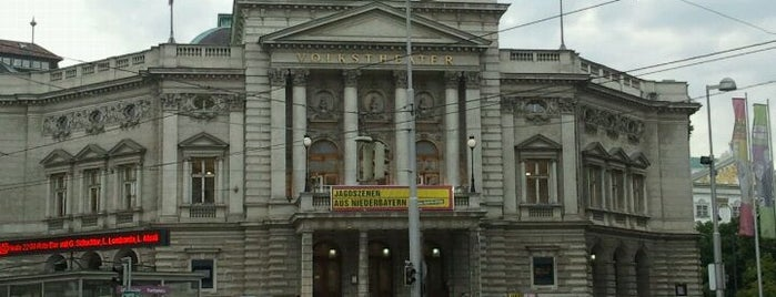 Volkstheater is one of Wien Highlights.