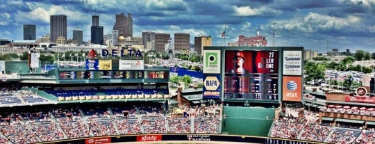 Turner Field is one of Baseball Stadiums To Visit....