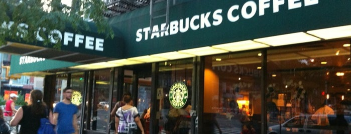Starbucks is one of LES Coffee.