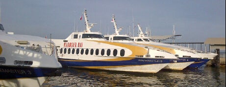Harbour Bay International Ferry Terminal is one of Batam Bagus ♥.