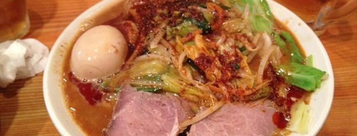 濃菜麺 井の庄 is one of からいものチャージ用.