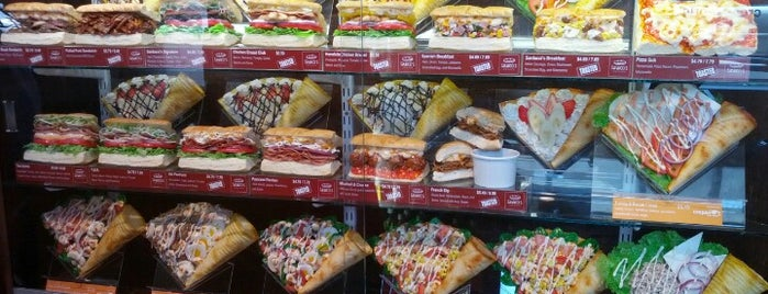 Crepan Crepe World/Sarducci's Signature Subs is one of First Hill Places.