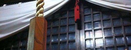 羽根木神社 is one of せたがや百景 100 famous views of Setagaya.