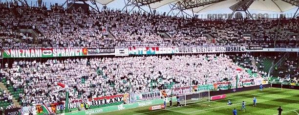 Stadion Miejski Legii Warszawa im. Marszałka Józefa Piłsudskiego is one of Estadios.