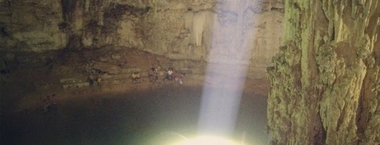 Cenote Suytun is one of ada eats and explores, mexico.