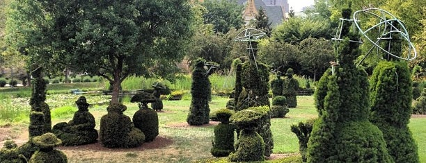 Topiary Garden is one of Columbus!.