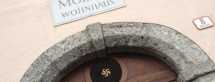 Mozart Wohnhaus is one of Salzburg.