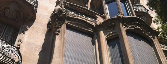 Casa Comalat is one of Barcelona.