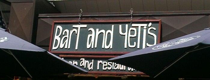 Bart & Yeti's is one of Blank & Blank.