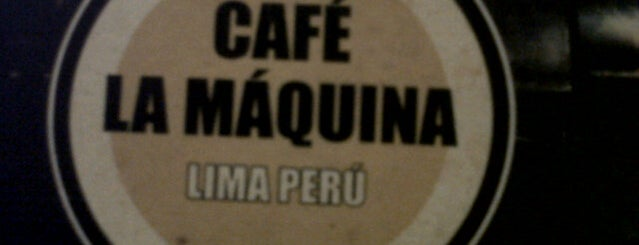 "Café La Máquina is one of Cafés ""Info Llama""."