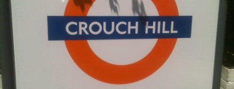 Crouch Hill London Overground Station is one of Railway stations visited.