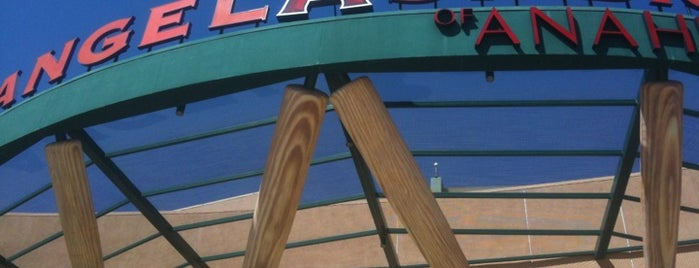Angel Stadium of Anaheim is one of MLB Baseball Stadiums.