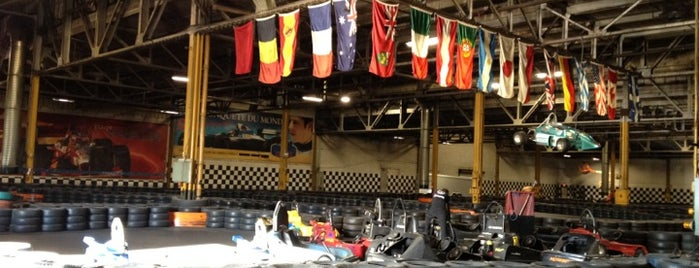 Action 500 Karting is one of Montreal Bachelor Party.